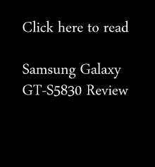 Click here to read review for Samsung Galaxy