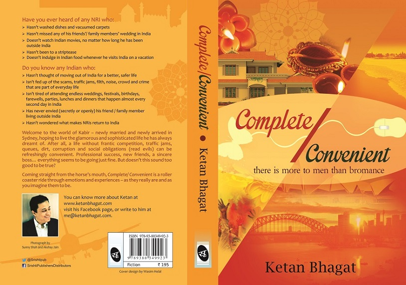 Book Review: Complete/ Convenient: Ketan Bhagat : a Riveting Story